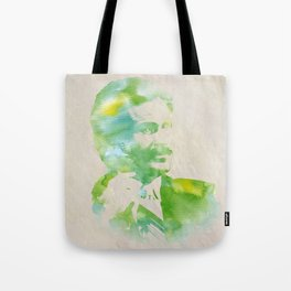 Ron Burgundy - Watercolor Tote Bag