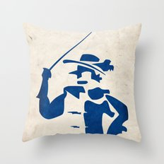 Cyrano de Bergerac - Digital Work Throw Pillow