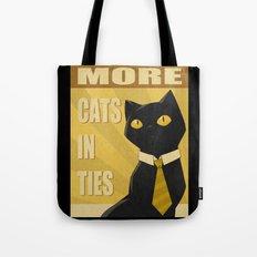 Cats in Ties - PSA Tote Bag