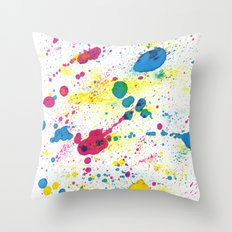 BALLONS Throw Pillow