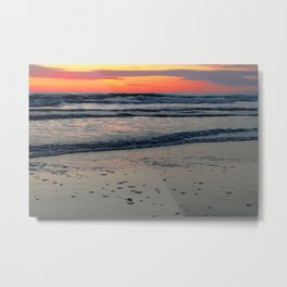 Flagler Beach Sunset Metal Print