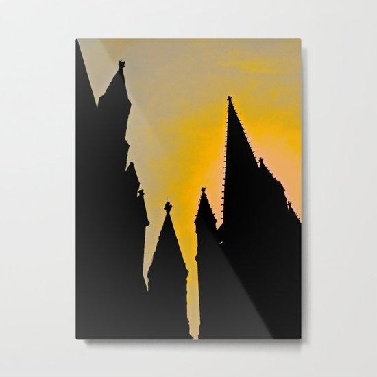 Steeple Sunrise Metal Print