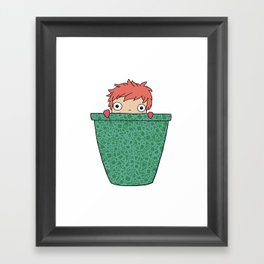 Got ham? Framed Art Print