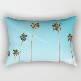 Palm Tree Sunshine Rectangular Pillow