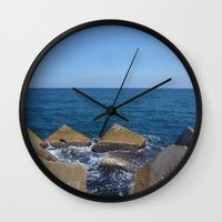 Barcelona - Espigo de la Mar Bella Wall Clock