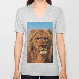 Portrait Of A Lion - Digital Remastered Edition Unisex V-Neck