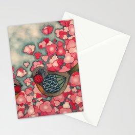 Blossom Birds Stationery Cards