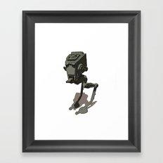 @-ST Framed Art Print