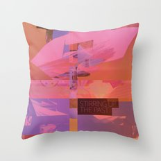 Stirring Up The Past Throw Pillow