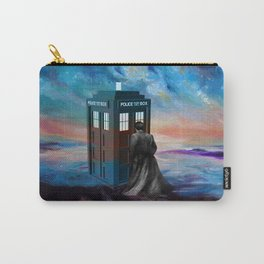 TARDIS DOCTOR WHO PAINT Carry-All Pouch