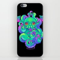cthulhu iPhone & iPod Skins featuring Cthulhu by Gunkiss