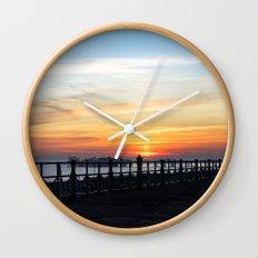 Quiet sunset Wall Clock