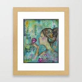 BeautyFULL Framed Art Print