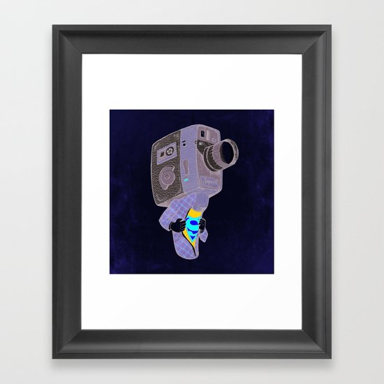 Super8 Framed Art Print