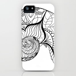 Nautilus Mandala iPhone Case