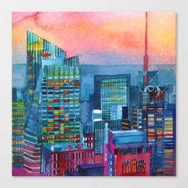 New York buildings vol2 Canvas Print