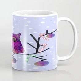 The Festive Owl Coffee Mug