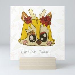 Yellow Deer Mini Art Print