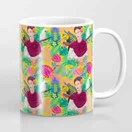 FK Pattern Coffee Mug