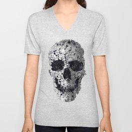 Doodle Skull Unisex V-Neck