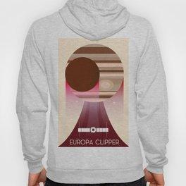 Europa Clipper Space Art poster. Hoody