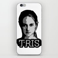 divergent iPhone & iPod Skins featuring Divergent: Tris by Flash Goat Industries