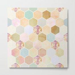 Honey Dripper Metal Print