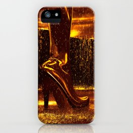 Shiny Boots of Leather iPhone Case