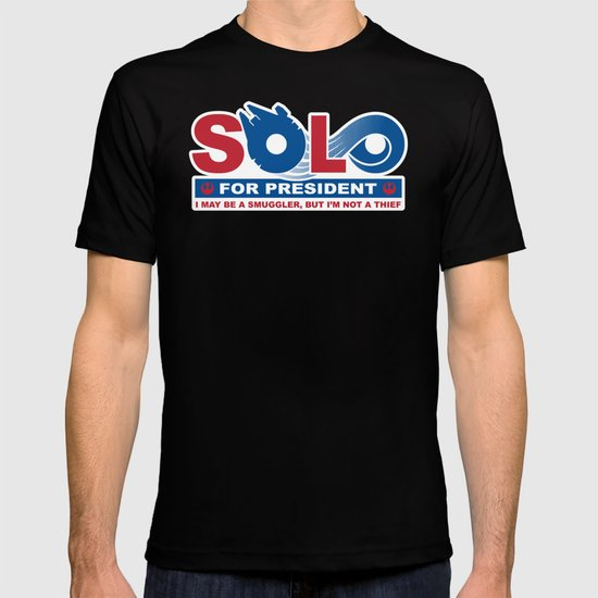 Solo for President T-shirt