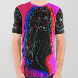 The Neon Demon All Over Graphic Tee
