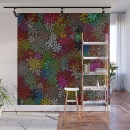 Flowers Arrival Wall Mural