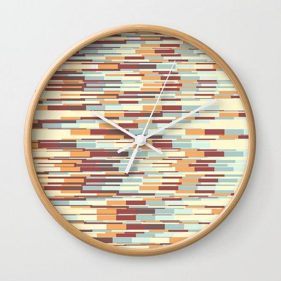 Abstract pattern 67 Wall Clock
