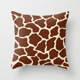 Giraffe pattern Throw Pillow