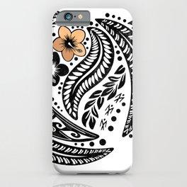 Polynesian Tribal iPhone Case