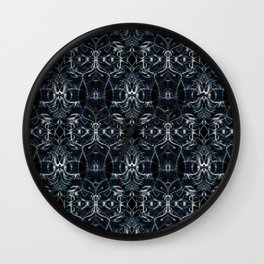 Fractal Space Pattern Wall Clock