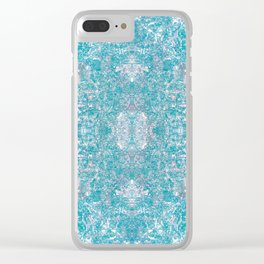 tranquil tunnel Clear iPhone Case