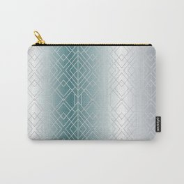 Silver Decor Carry-All Pouch