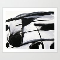 music notes Art Prints featuring Music Notes by CjosephART