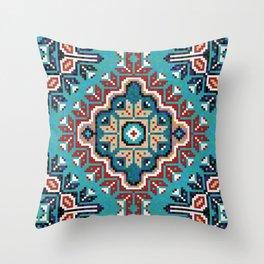Native American Navajo pattern II Throw Pillow