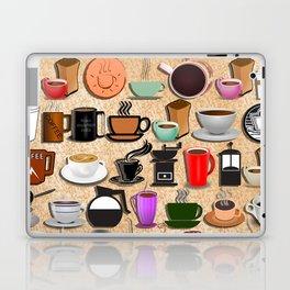 Coffee Mugs, Cups and Makers Laptop & iPad Skin