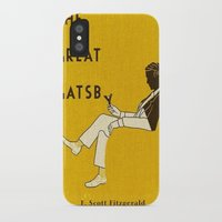 great gatsby iPhone & iPod Cases featuring The Great Gatsby by MW. [by Mathius Wilder]