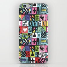 I LOVE U! iPhone & iPod Skin