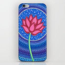 Rainbow Flower of Life iPhone Skin