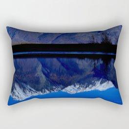 Knik River Mts Rectangular Pillow