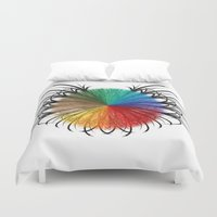 insect Duvet Covers featuring İnsect by kartalpaf
