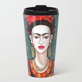 Frida - queen of hearts closer Travel Mug