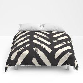 Retro Chevron Pattern Comforters