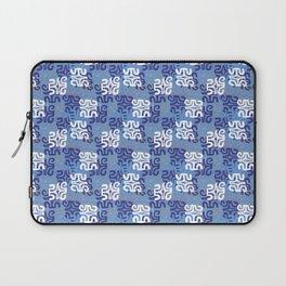 Swanky Mo Blue Laptop Sleeve