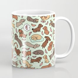Wiener Dog Wonderland Coffee Mug