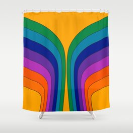 Summertime Wing Shower Curtain